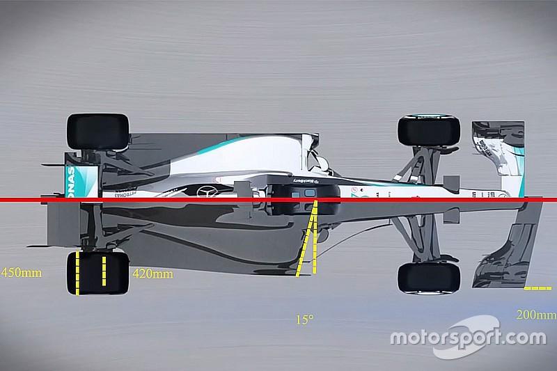 VÍDEO: Como será o visual dos carros da Fórmula 1 em 2017