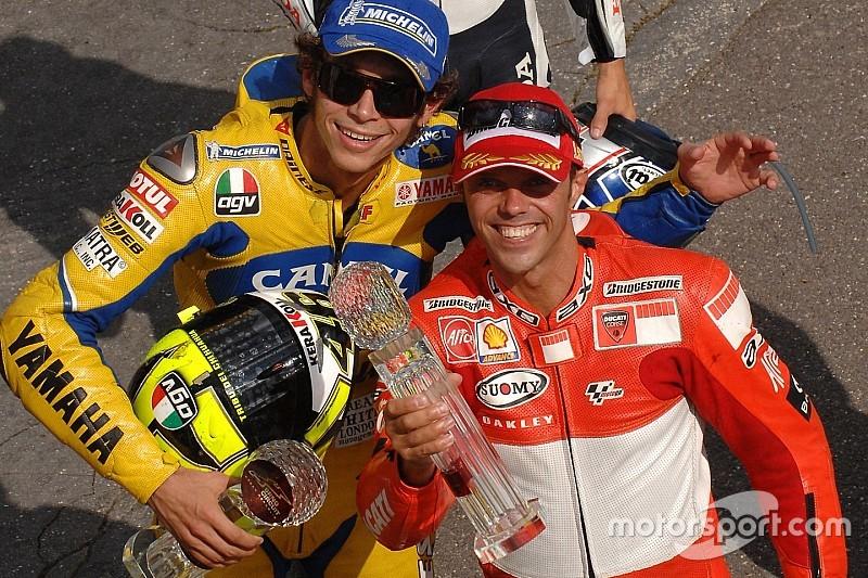 Capirossi dice que Rossi es el favorito para ser campeón en MotoGP