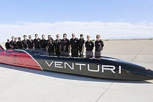 La Venturi punta al record di 600 km/h con l'elettrico!