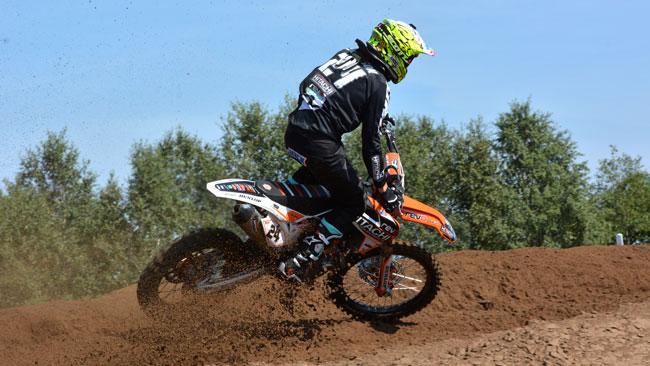 Shaun Simpson domina le qualifiche in Belgio