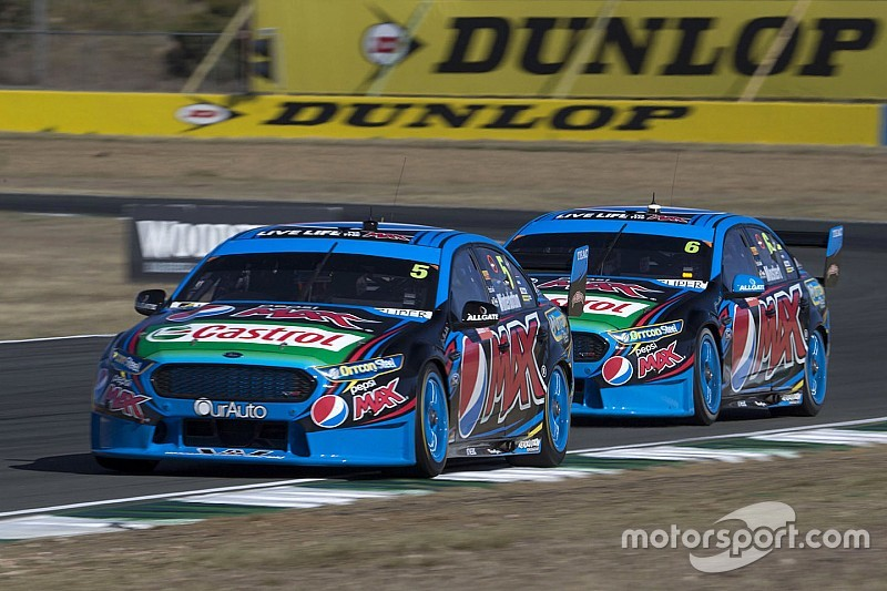 Prodrive locks out V8 front row