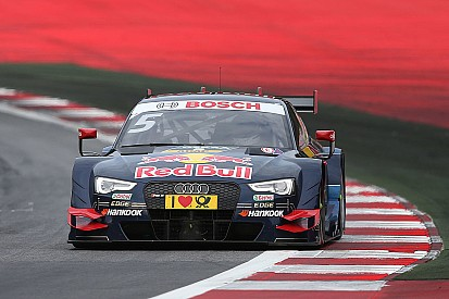 Spielberg DTM: Ekstrom on pole in wet Sunday qualifying