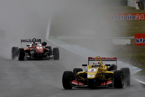 La course 3 annulée à cause de la pluie en F3 Europe