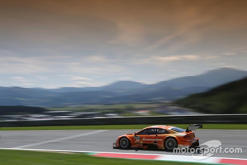 Botto pauroso in gara 2 dell'Audi TT Cup in Austria