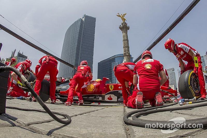 Pilotos mexicanos acompañan a Esteban Gutiérrez