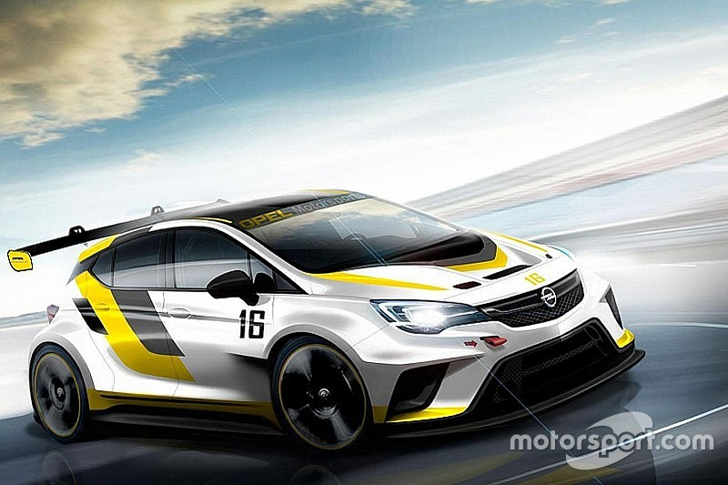 Opel développe l'Astra OPC TCR