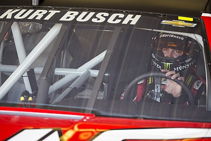 Kurt Busch is sticking with Stewart-Haas Racing
