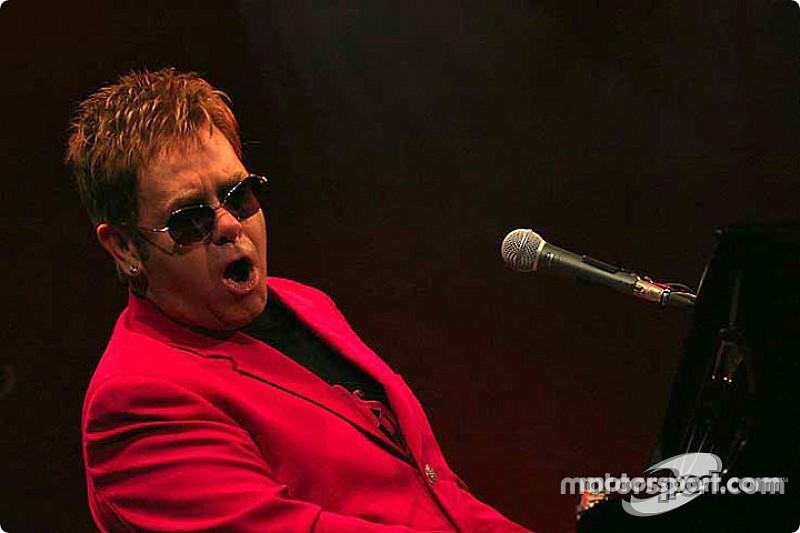 Elton John fará show após prova de Austin da Fórmula 1