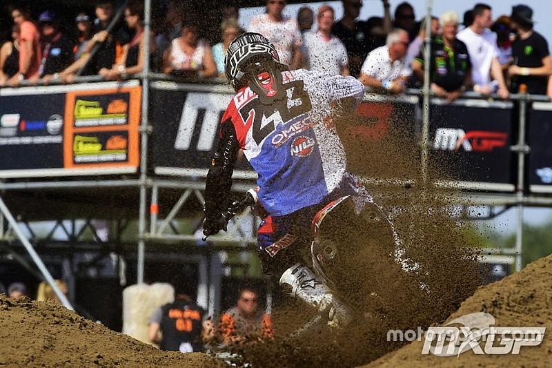 Tim Gajser limita i danni sulla sabbia di Lommel