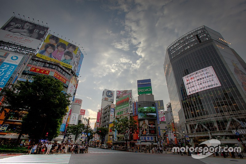 Exclusive: Formula E on the streets of Tokyo