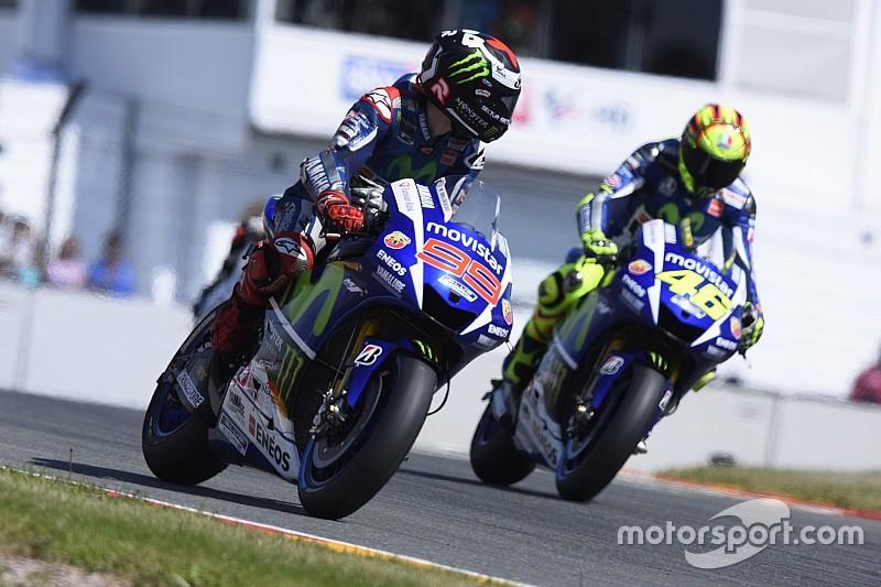 Lorenzo se centra en ganarle a Rossi