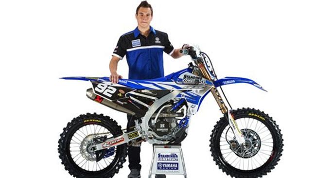 Valentin Guillod salta in MXGP con la Yamaha
