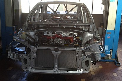 Команда Top Run строит Subaru для серии TCR