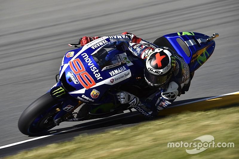 Lorenzo supera a Márquez en la primera práctica de Indianápolis