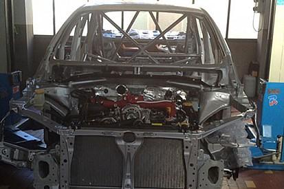 Gabbiani e Russo collaudatori della Subaru WRX STi