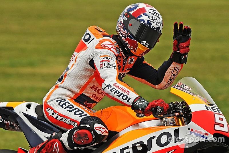 Márquez dice que Lorenzo será su principal rival