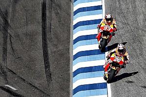 MotoGP Résumé de qualifications Dani Pedrosa assure le doublé Honda