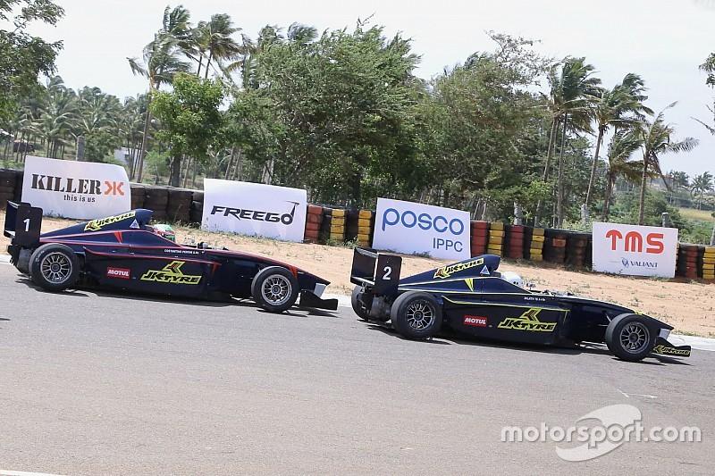 Prasad wins race two; Rabindra penalised