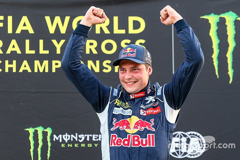 Jeanney wins World RX of Canada for team Peugeot-Hansen
