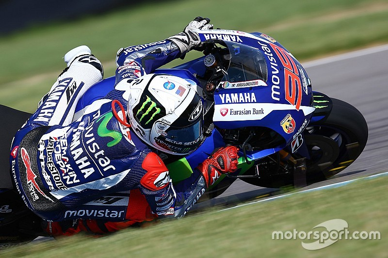 Indy MotoGP: Marquez and Lorenzo crash in warm-up