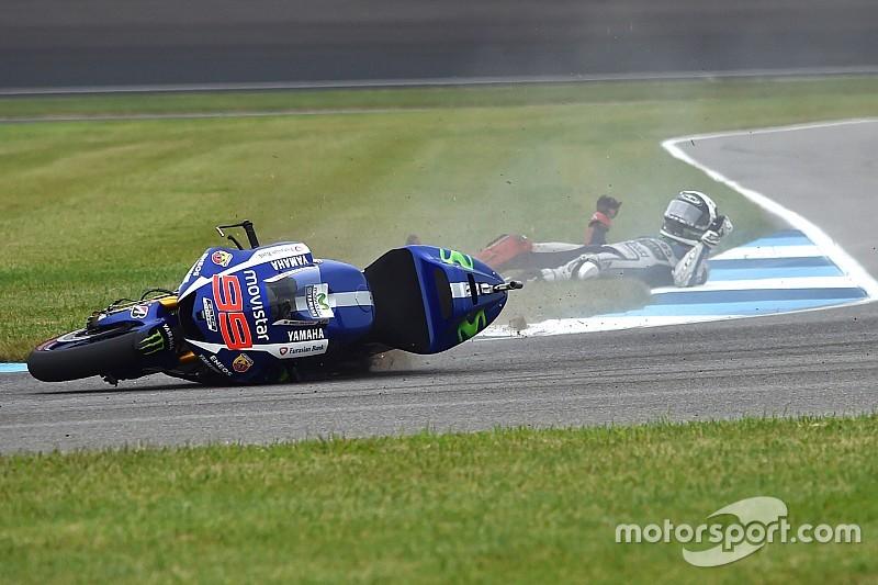 Márquez et Lorenzo ont failli perdre gros en chutant au warm-up