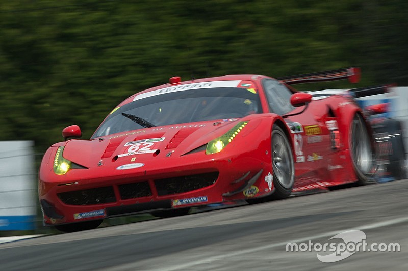 Ferrari scores podium at Road America