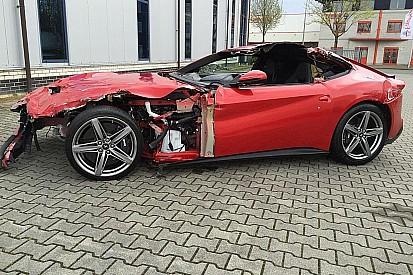 77'000€ pour une Ferrari F12 Berlinetta… détruite!