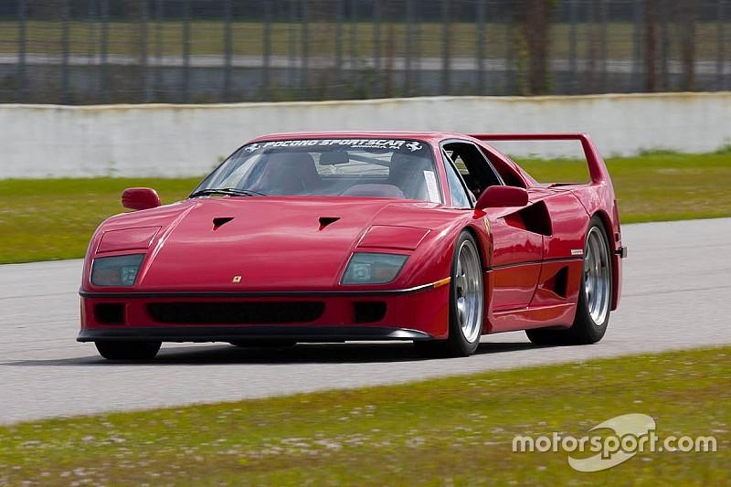 Une Ferrari F40 atteint 1,12 million d'euros aux enchères!