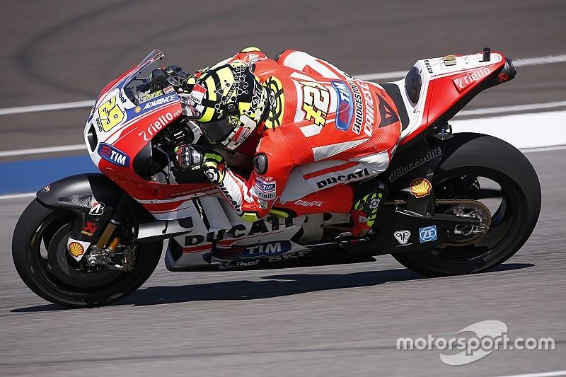 """Iannone: """"no sé qué esperar aquí en Brno"""""""