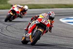 MotoGP Noticias Márquez está feliz con el rendimiento