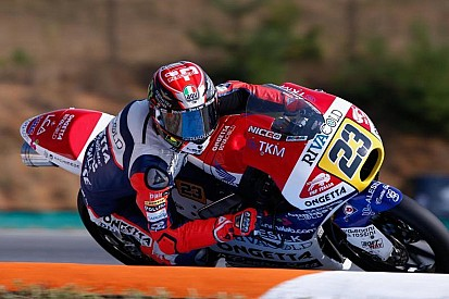 Com cronômetro zerado, Antonelli conquista pole na Moto3