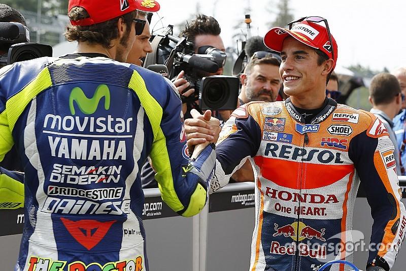 """Márquez reconoce que las Yamaha """"están un poco mejor"""""""
