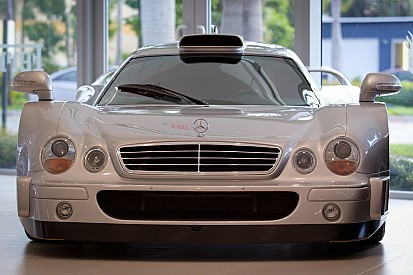 Ouch... Mercedes-Benz CLK GTR at Monterey Car Week
