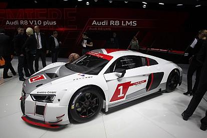 2016 Audi R8 LMS GT3 ready for the IMSA GT Daytona class