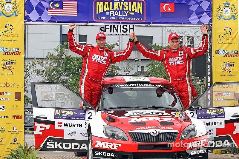 Team MRF dominates APRC Malaysia round