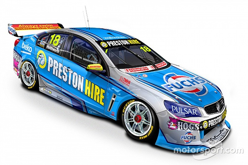 New backing for Holdsworth V8