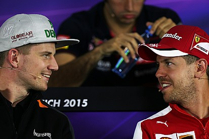 Hulkenberg to partner Vettel in Race of Champions
