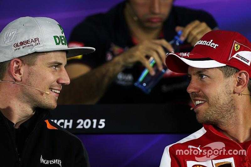 Nico Hulkenberg será parceiro de Vettel no Race of Champions