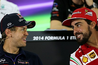 F1 stat attack: Vettel and Alonso level on points