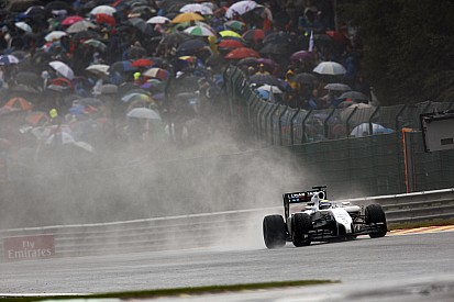 Com frente úmida chegando, GP da Bélgica pode ter chuva