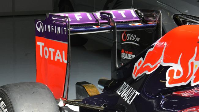 Red Bull: ala scarica per cercare la velocità massima