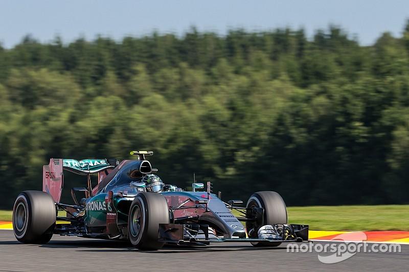 Mesmo com estouro de pneu, Rosberg lidera em Spa; Nasr é 9º