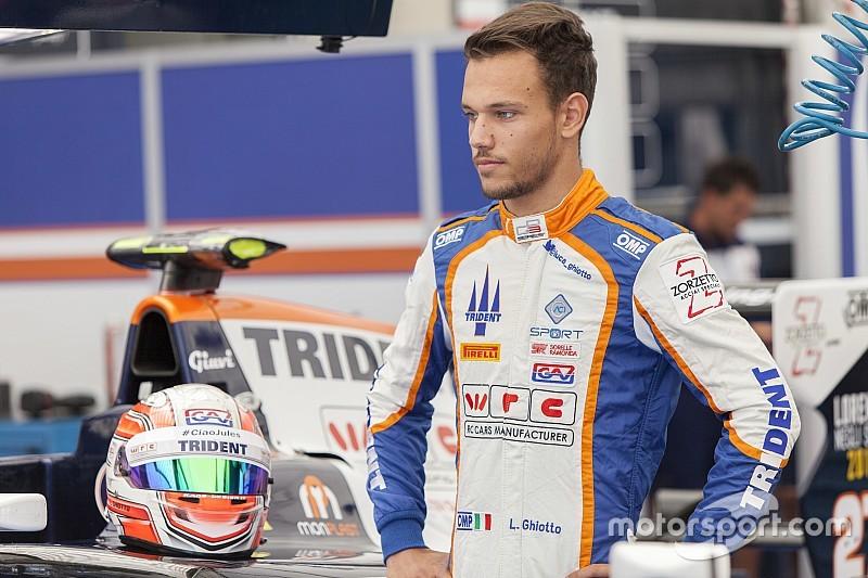 Nouvelle pole position pour Luca Ghiotto