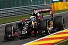 Grosjean penalizará en la grilla por reemplazar la caja de cambios