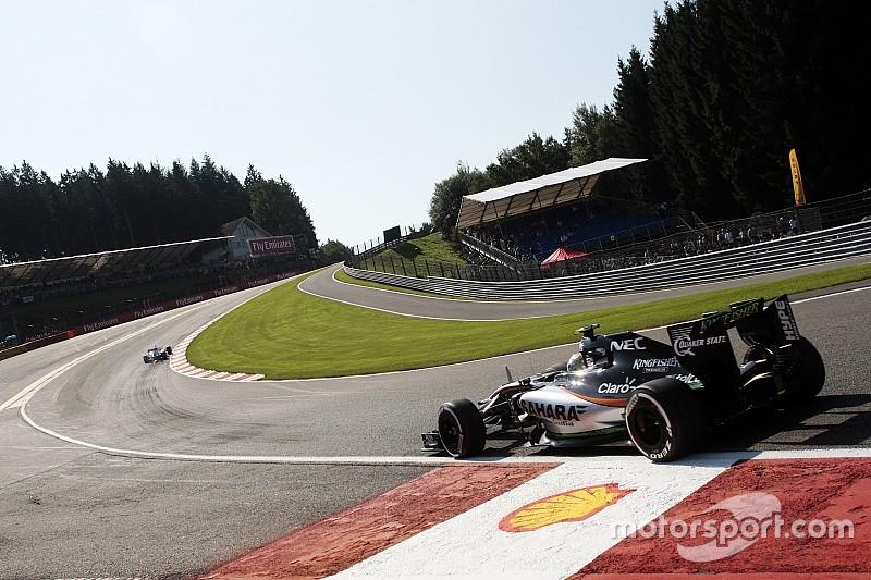 FIA tira zebra de saída da Eau Rouge a pedido dos pilotos