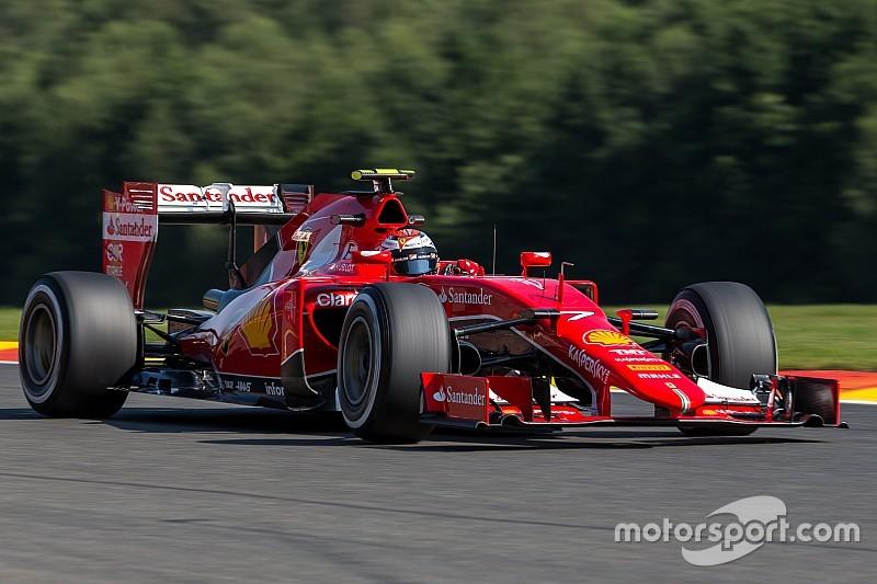 Problème d'unité de puissance pour Räikkönen