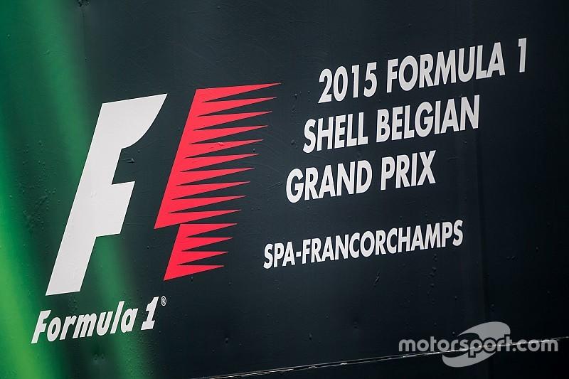 Гран При Бельгии: стартовая решётка