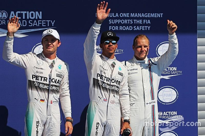 Belgian GP: Starting grid after penalties