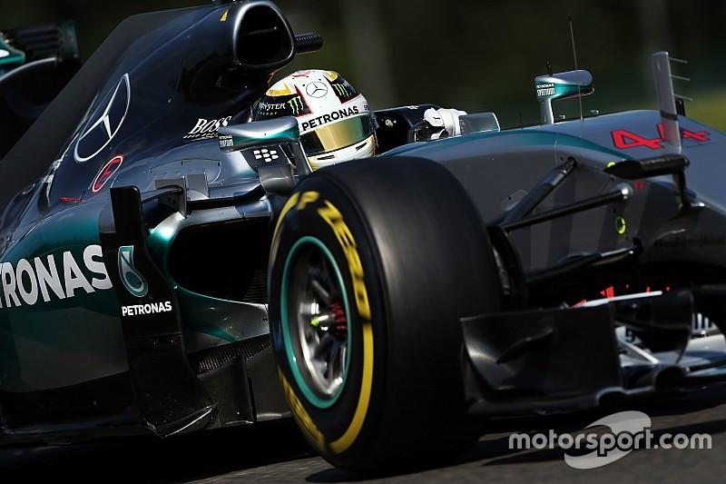 "Hamilton califica su fin de semana como ""increíble""."