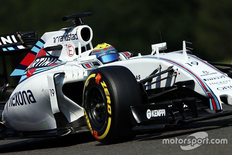 Les Williams étaient victimes de graining à Spa-Francorchamps